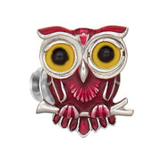Winking Owl Lapel Pin - Jan Leslie Cufflinks and Accessories
