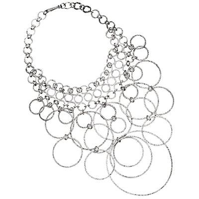 Women's Loop Sterling Silver Necklace Necklaces Jan Leslie Silver Jan Leslie