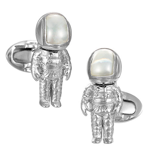Astronaut Cufflinks - Jan Leslie Cufflinks and Accessories