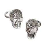 Skull Pirate Cufflinks by Jan Leslie