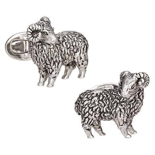 Classic Sheep Cufflinks - Jan Leslie Cufflinks and Accessories