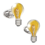 Light Bulb LightningLinks Cufflinks - Jan Leslie Cufflinks and Accessories