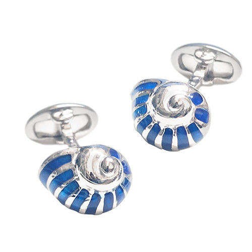 Snail Shell Cufflinks