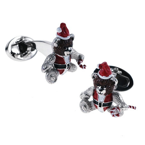Santa Moving Cufflinks