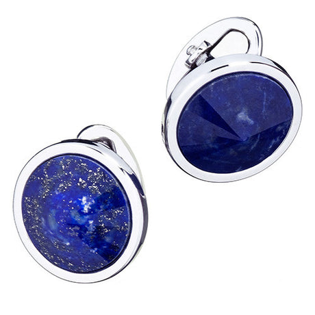 Colorful Gemstone Sphere Cufflinks - Jan Leslie Cufflinks and Accessories