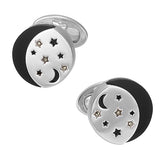 Starry Starry Night Cufflinks - Jan Leslie Cufflinks and Accessories