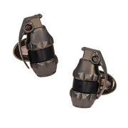 Military Grenade Cufflinks - Jan Leslie Cufflinks and Accessories