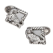 Tiger Frame Cufflinks - Jan Leslie Cufflinks and Accessories
