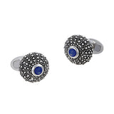 Sea Urchin Cufflinks with Gemstone Accents