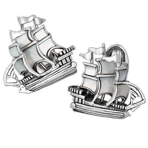 Treasure Ship Cufflinks