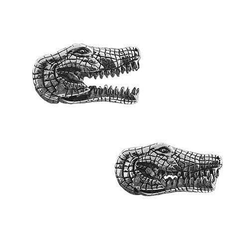 Snapping Alligator Cufflinks - Jan Leslie Cufflinks and Accessories