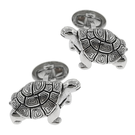 Antiqued Tortoise Cufflinks - Jan Leslie Cufflinks and Accessories