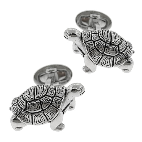 Antiqued Tortoise Cufflinks