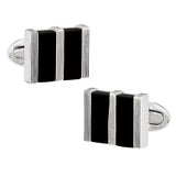 Rectangle Gemstone Cufflinks - Jan Leslie Cufflinks and Accessories