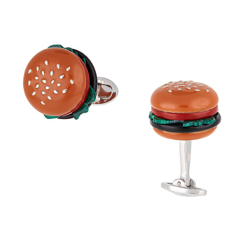 Gemstone Hamburger Cufflinks - Jan Leslie Cufflinks and Accessories