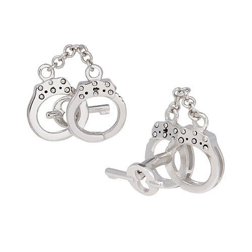Moving Handcuff Cufflinks