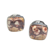 Bird's Eye Sterling SIlver Cufflinks - Jan Leslie Cufflinks and Accessories
