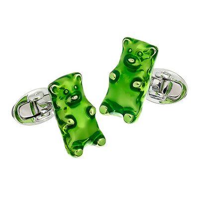Gummy Bear Cufflinks - Jan Leslie Cufflinks and Accessories