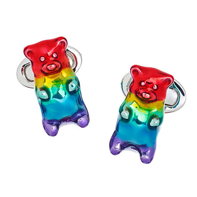 AWARD WINNING Gummy Bear Cufflinks Cufflinks Jan Leslie Cufflinks and Accessories Jan Leslie