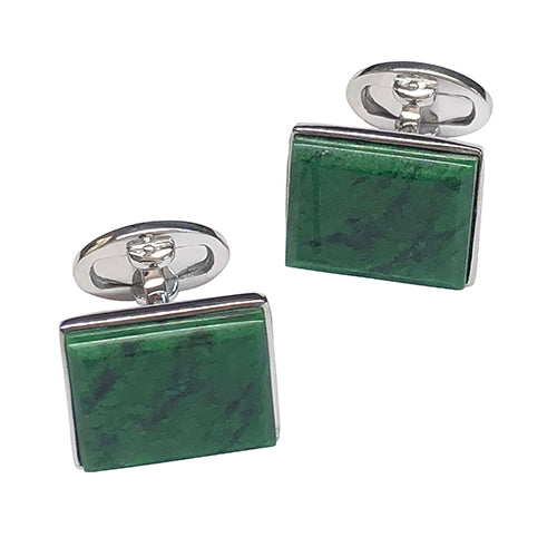Maw Sit Sit Sterling Silver Cufflinks - Jan Leslie Cufflinks and Accessories