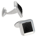 Faceted Agate Cufflinks