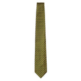Olive Signature Silk Bee Necktie by Jan Leslie