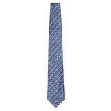 Light Blue Signature Silk Alligator Necktie by Jan Leslie