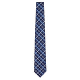 Navy Signature Silk Alligator Necktie by Jan Leslie