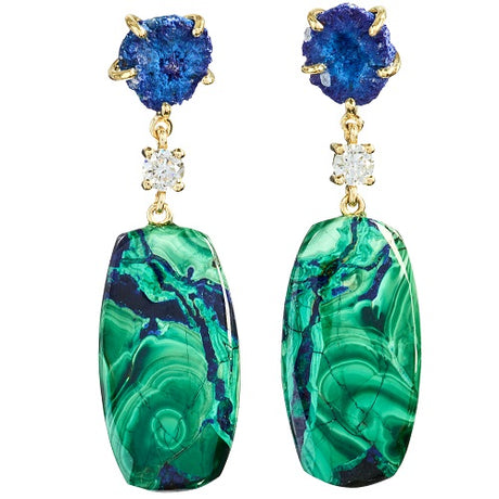 Blue Ridge Mountains Bespoke Earrings