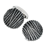 Jan Leslie Vintage-Inspired Rope Cufflinks