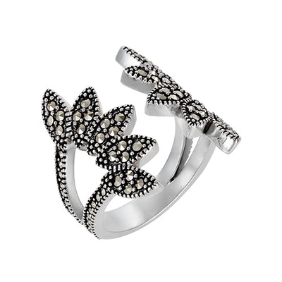Seagrass Wrap Ring: The Stardust Pavé Jewelry Collection Sale Only Jan Leslie Jan Leslie