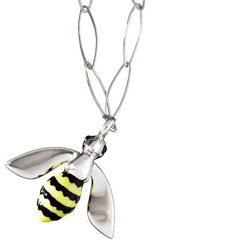 Bumble Bee Charm Necklace - Jan Leslie Cufflinks and Accessories