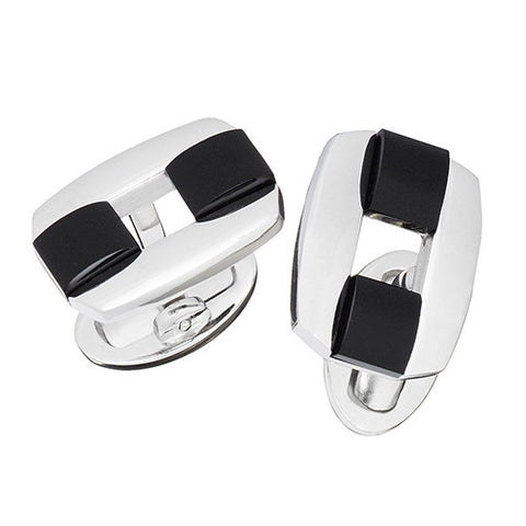 Rectangular Buckle Cufflinks