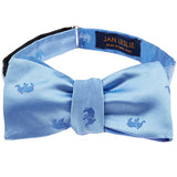 Signature Blue Elephant Bowtie by Jan Leslie