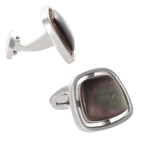 Floating Gemstone Cufflinks