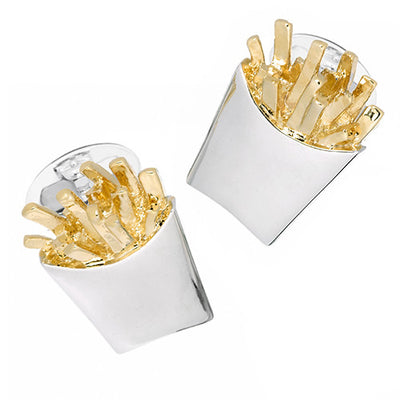 French Fry Cufflinks - Jan Leslie Cufflinks and Accessories