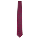 Fuchsia Signature Silk Lion Necktie by Jan Leslie