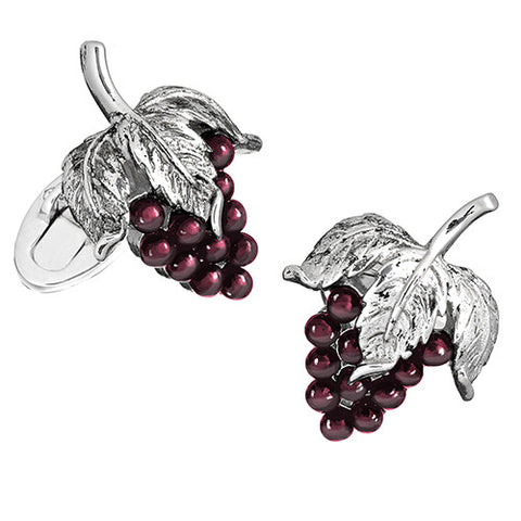 Gemstone Grape Cufflinks