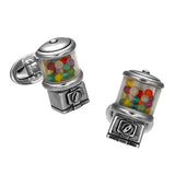Moving Gumball Machine Cufflinks by Jan Leslie