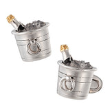 Jan Leslie Champagne Party Cufflinks