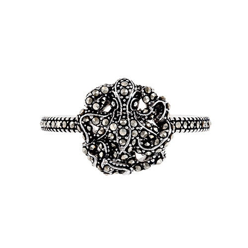 Octopus Ring: The Stardust Pavé Jewelry Collection by Jan Leslie