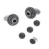 Sea Urchin Tuxedo Cufflinks and Studs by Jan Leslie