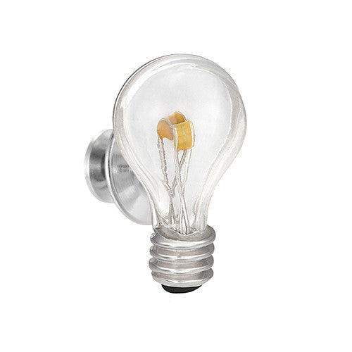 Light Bulb LightningLinks Lapel Pin by Jan Leslie