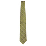 Olive Signature Silk Alligator Necktie by Jan Leslie