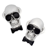 Skull and Sunglasses Cufflinks by Jan Leslie