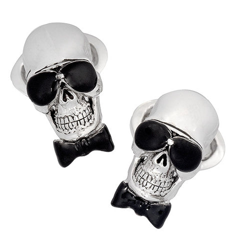 Skull and Sunglasses Cufflinks