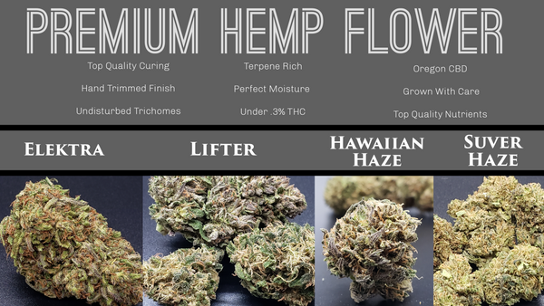 Premium  hemp flower - its bro hemp