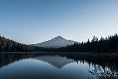 Mount Hood Oregon Over a lake