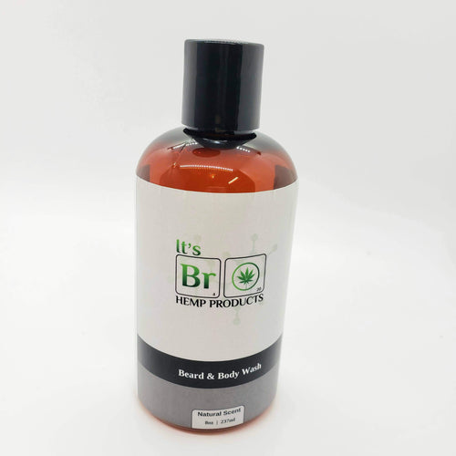Bottle of Beard and Body Wash By It's Bro Hemp Products
