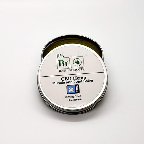CBD Hemp Salve - With Lavender and Peppermint